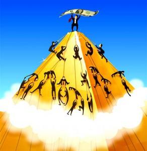 Самый богатый человек в Вавилоне и пирамида МММ 2011