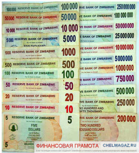 Доллар Зимбабве или, что будет с нашими инвестициями, если деньги исчезнут?